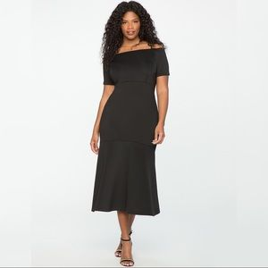 Eloquii Off Shoulder Trumpet Gown